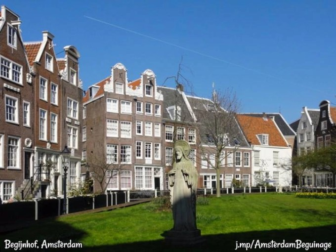 beguinage in Amsterdam