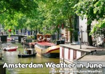 June weather in Amsterdam
