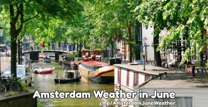 June weather in Amsterdam