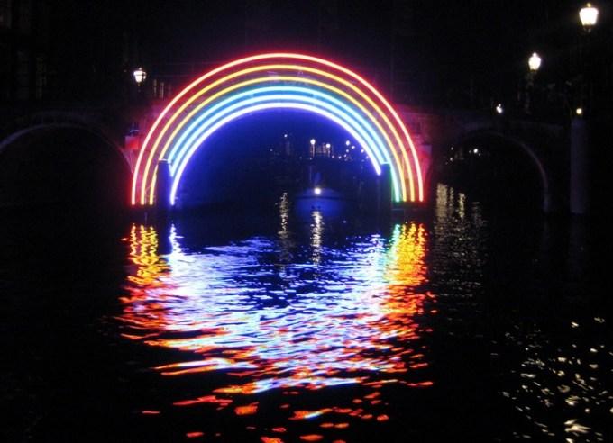 light art installation