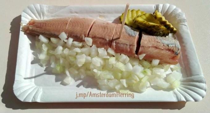 Amsterdam street food herring