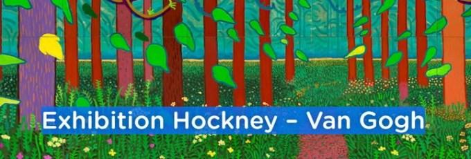 Hockney Van Gogh exhibition