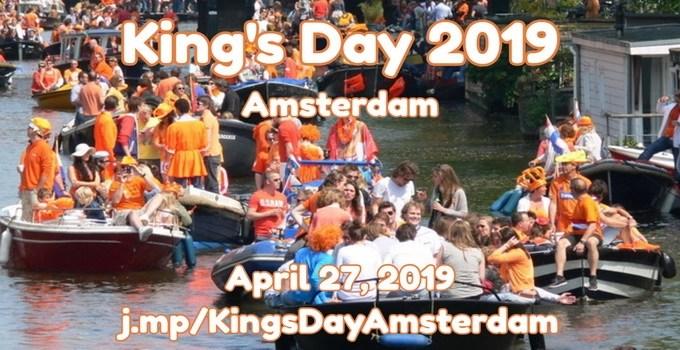 Koningsdag Amsterdam 2019