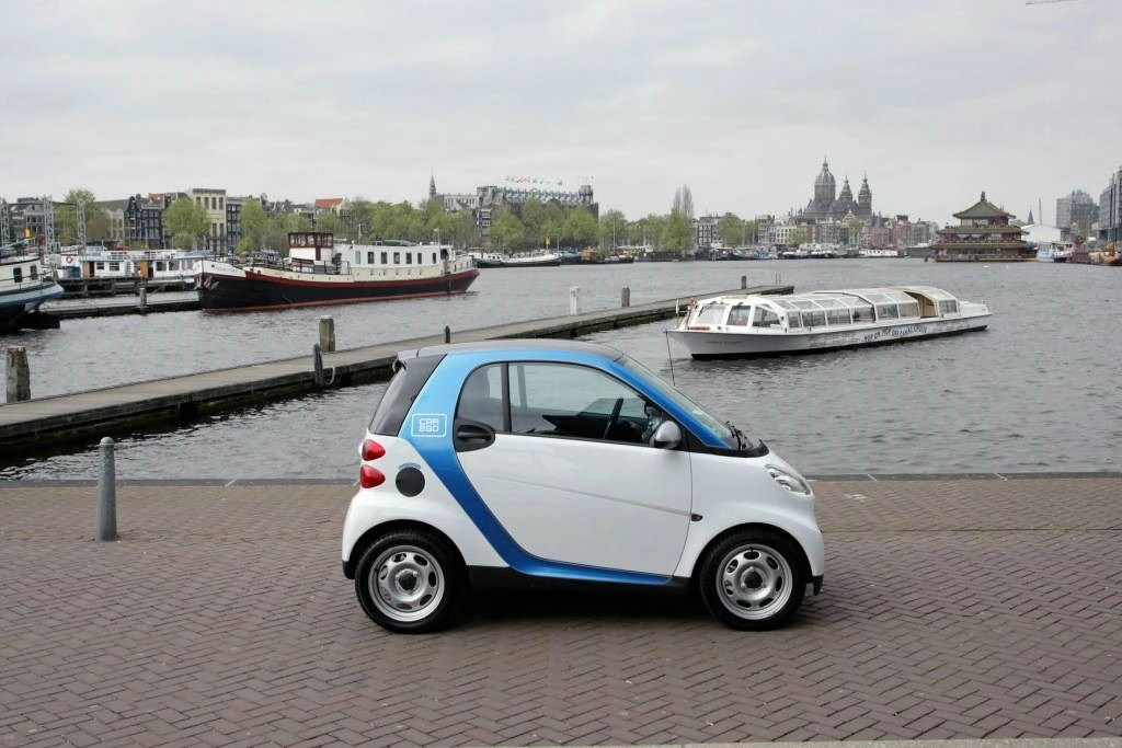 Amsterdam Gets Europe S Largest Electric Vehicle Sharing Program