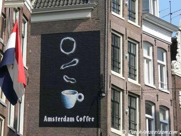 Coffeeshop Dampkring, Haarlemmerstraat, Amsterdam