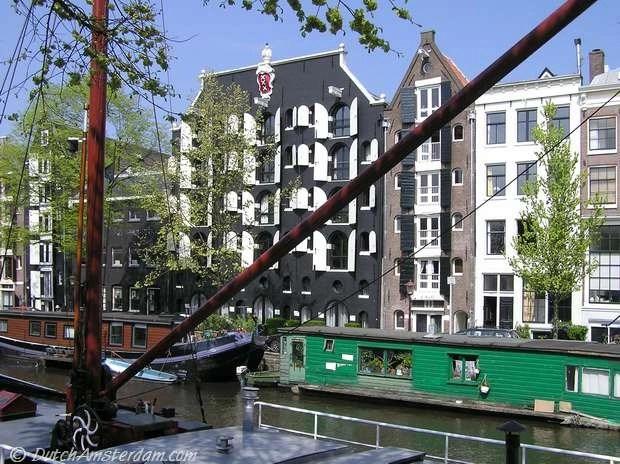 Houseboats, Brouwersgracht, Amsterdam