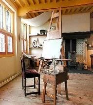 Rembrandt easel
