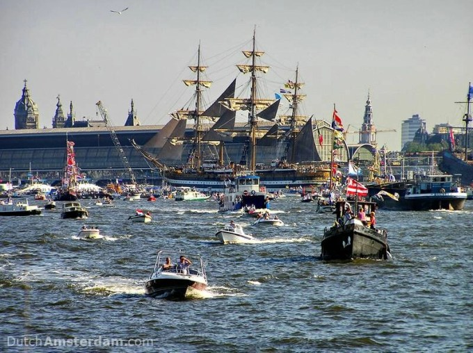 tail ships at Sail Amsterdam