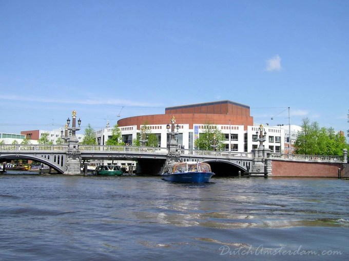 The Stopera (from Stadhuis and Opera) — Amsterdam's combined city hall and opera hall
