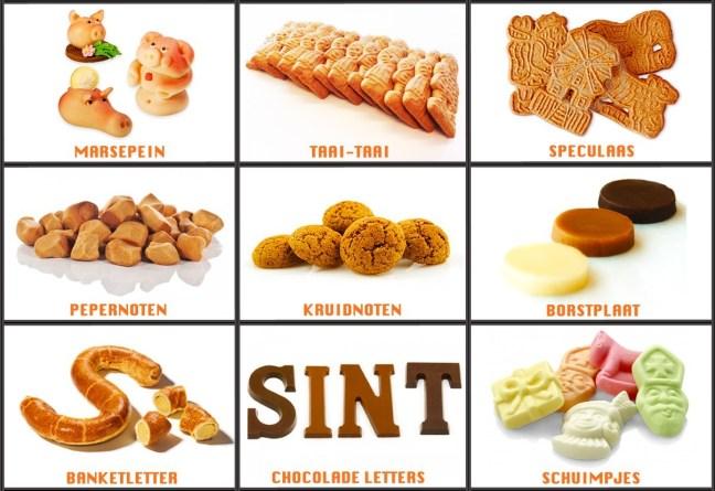 Sinterklaas candy sweets