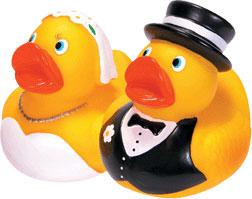 BRIDE AND GROOM DUCKS