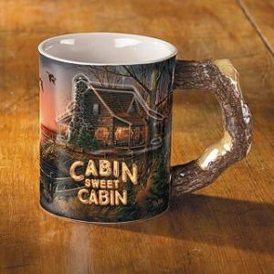Cabin Sweet Cabin Coffee Mug