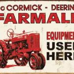 FARMALL- EQUIP USED HERE