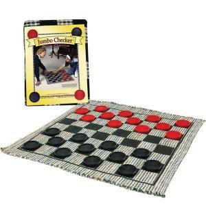Jumbo Checkers Rug