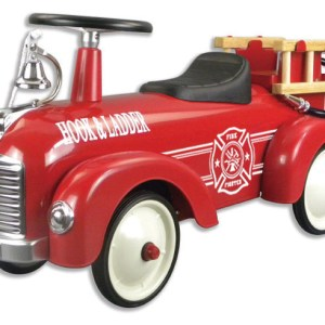 METAL SPEEDSTER-FIRE TRUCK