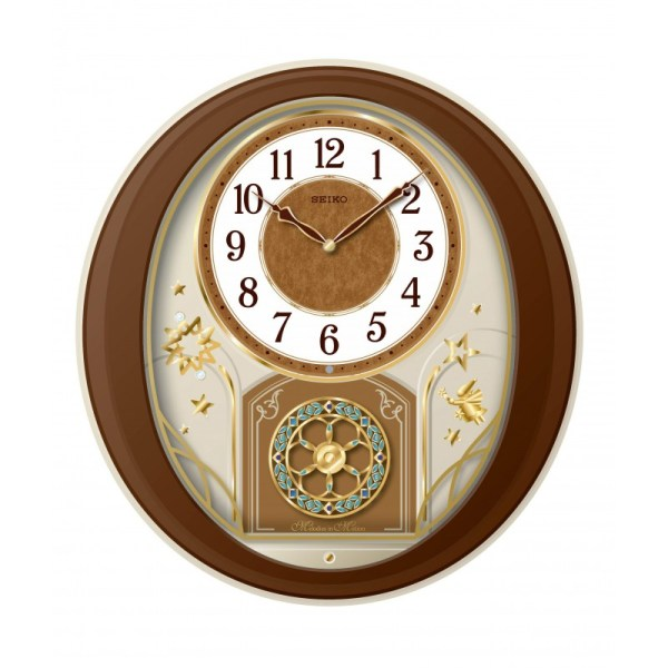 Melodies in Motion: Philomena Musical Wall Clock