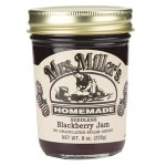 No Sugar Seedless Blackberry Jam