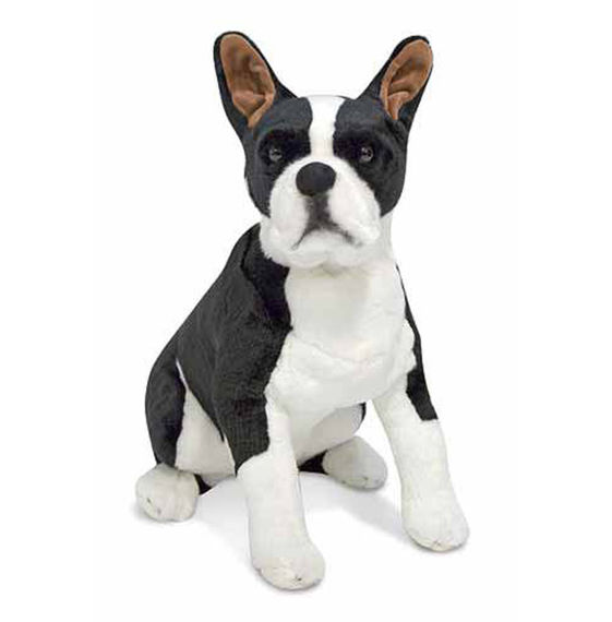 Boston Terrier Dog Giant Stuffed Animal Dutch Country General Store