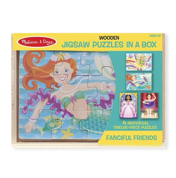 Fanciful Friends Puzzles In A Box - Dutch Country General Store