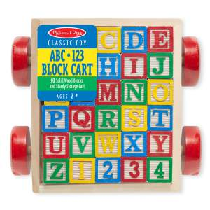 Classic ABC Block Cart
