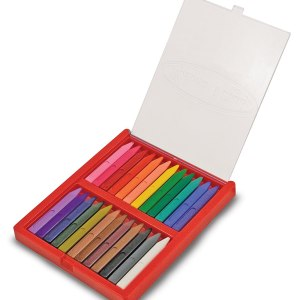 24 Triangular Crayons