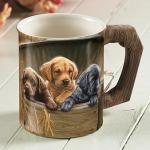All Hands on Deck – Lab Pups Coffee Mug