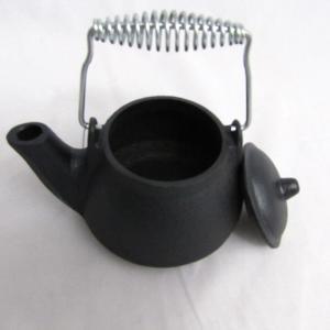 CAST IRON SMALL TEA KETTLE