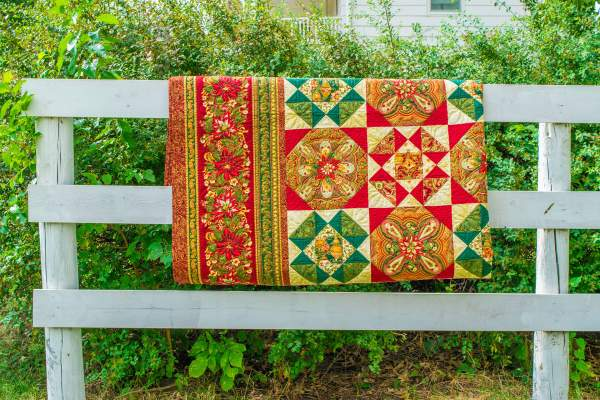 Amish and Mennonite Made Quilts – Christmas Quilt Pattern Anna Bella