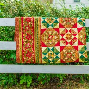 Amish and Mennonite Made Quilts - Christmas Quilt Pattern Anna Bella