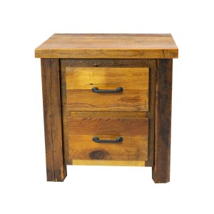 Two-Drawer Night Stand