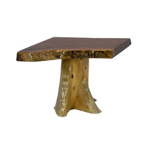 Coffee Table (Single Stump Walnut)