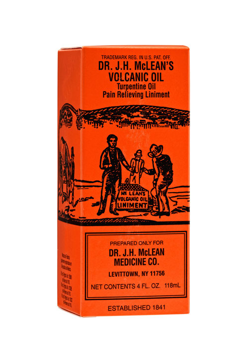 Dr. J.H. McClean's Volcanic Oil