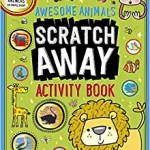 Awesome Animals Scratch Away Activity by House of Marbles