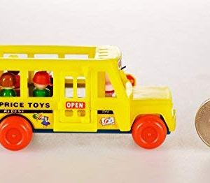 World's Smallest Fisher Price School Bus by Super Impulse