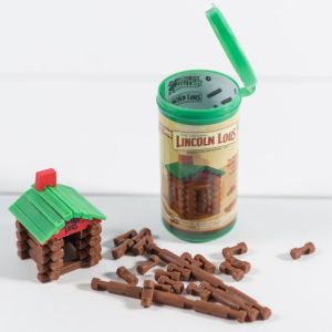 World's Smallest Lincoln Logs by Super Impulse