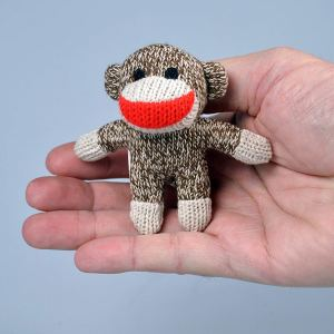 World's Smallest Sock Monkey by Super Impulse