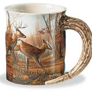 Autumn Run Sculpted Coffee Mug