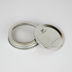 Ball Canning Lids With Bands Regular Mouth 12ct