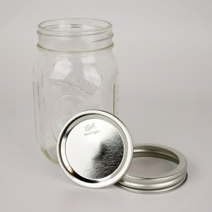 Ball Canning Jars 1 dozen Regular Mouth Pint