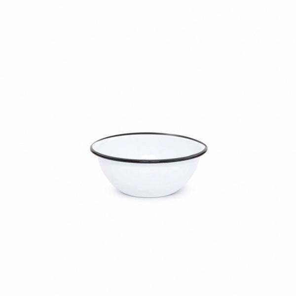 Vintage 20 oz Cereal Bowl with Black Trim