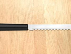 Bagel Knife Black