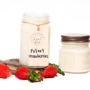 Whiskey Boat Goods Candle - Poteet Strawberry