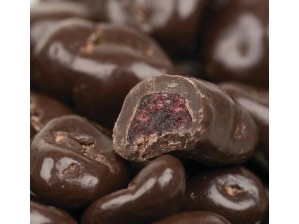 Dark Chocolate Dried Cranberries 1lb