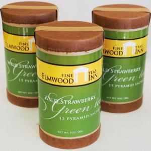 Elmwood Inn Fine Tea Wild Strawberry Green Tea