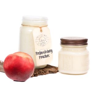 Whiskey Boat Goods Candle - Fredericksburg Peaches