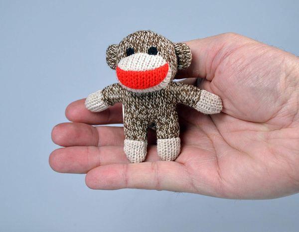 World's Smallest Sock Monkey by Super Impulse