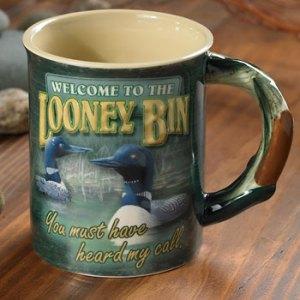 Looney Bin Sculpted Coffee Mug