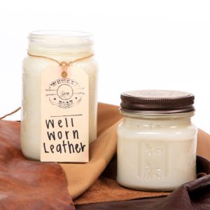 Whiskey Boat Goods Candle - Well Worn Leather