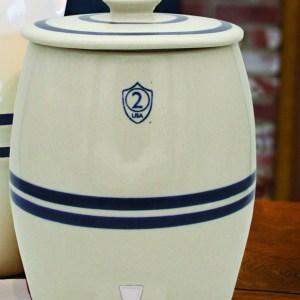 Ohio Stoneware Keg