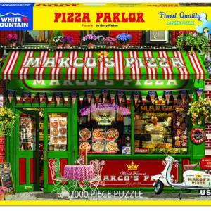 White Mountain Puzzle - Pizza Parlor